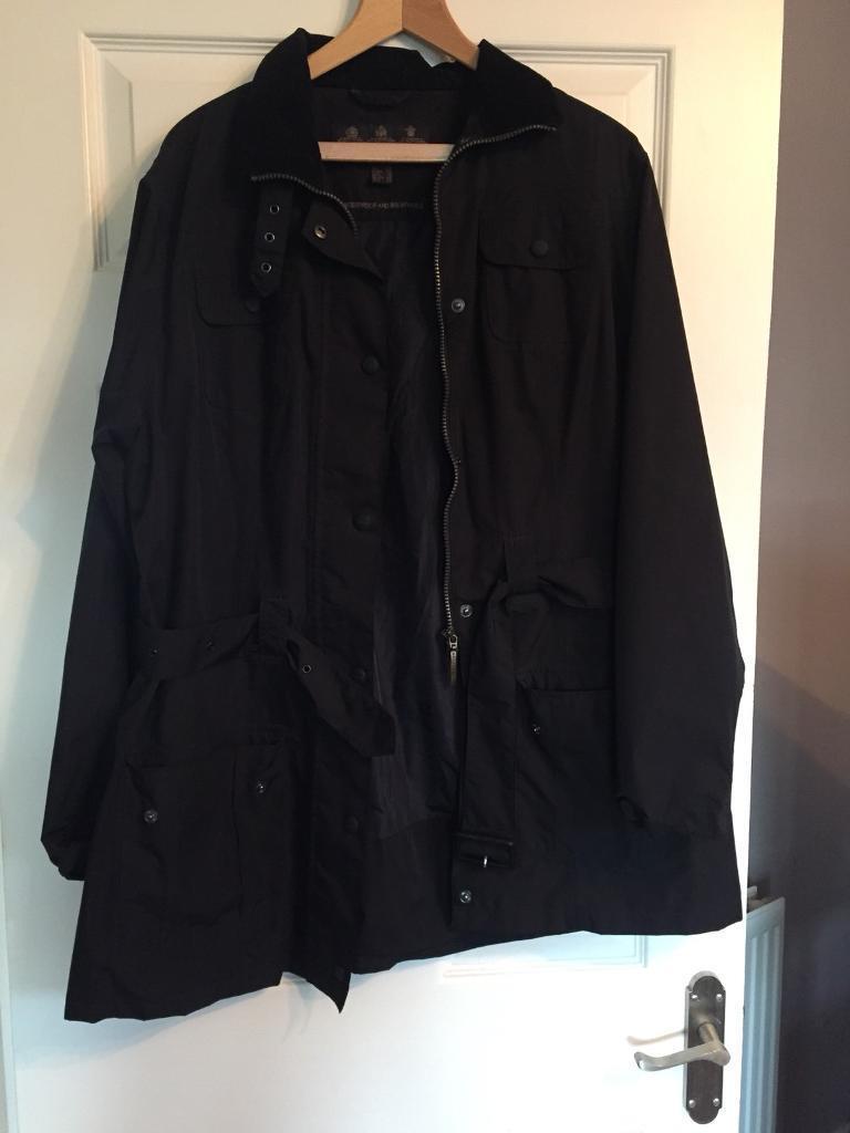 Barbour waterproof ladies coat /jacket size 20