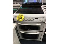 HOTPOINT 60CM CEROMIC TOP ELECTRIC COOKER...