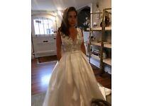 Sottero & Midgley V-line wedding gown with Swarovski crystals
