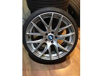 BMW 19 3sdm cs style alloys and tyres staggered