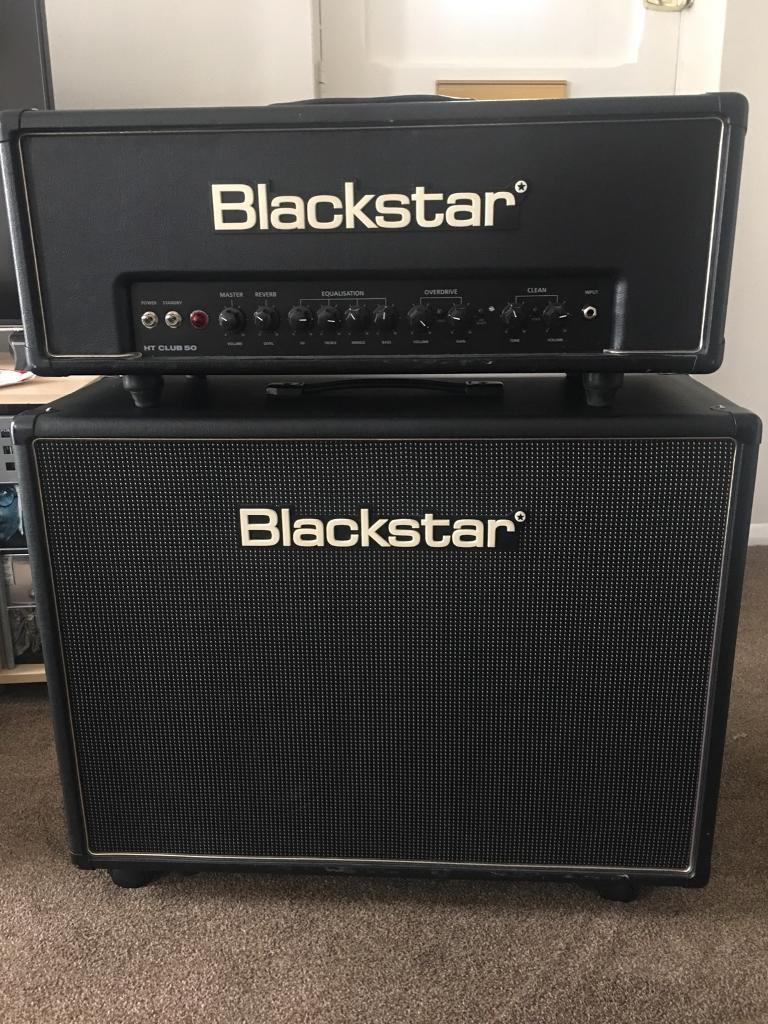 Blackstar HT50 plus 2 x 12 cabinet and covers