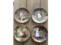 Wedgewood Bone China 'Yesterday's Child' Wall Plates