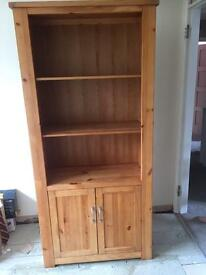 Next solid wood bookcase