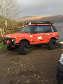 RRC bobtail swap for series Land Rover or defender
