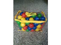 Coloured Soft Flex Balls