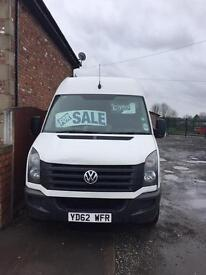 VOLKSWAGEN CRAFTER 2013**LWB 96,000 MILES ONLY***MOT FEB 2018***NO VAT!!!!!!!!!!!!