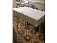 Small White Desk from Habitat