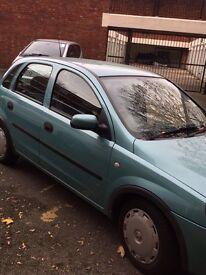 Vauxhall Corsa semi automatic 2003