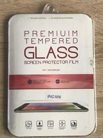 Brand New Tempered Glass Screen Cover For iPad Mini **Free P&P**