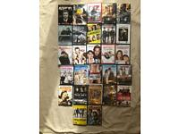27 x DVD's action, romance & comedy (good condition)