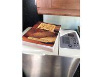 Bread maker and recipe book