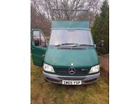 Mercedes sprinter pick up sell or swap