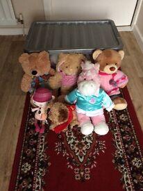 cuddly toys £5