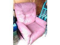easi recliner chair fully electric hand controls