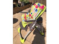 Kids chicco high/dining chair
