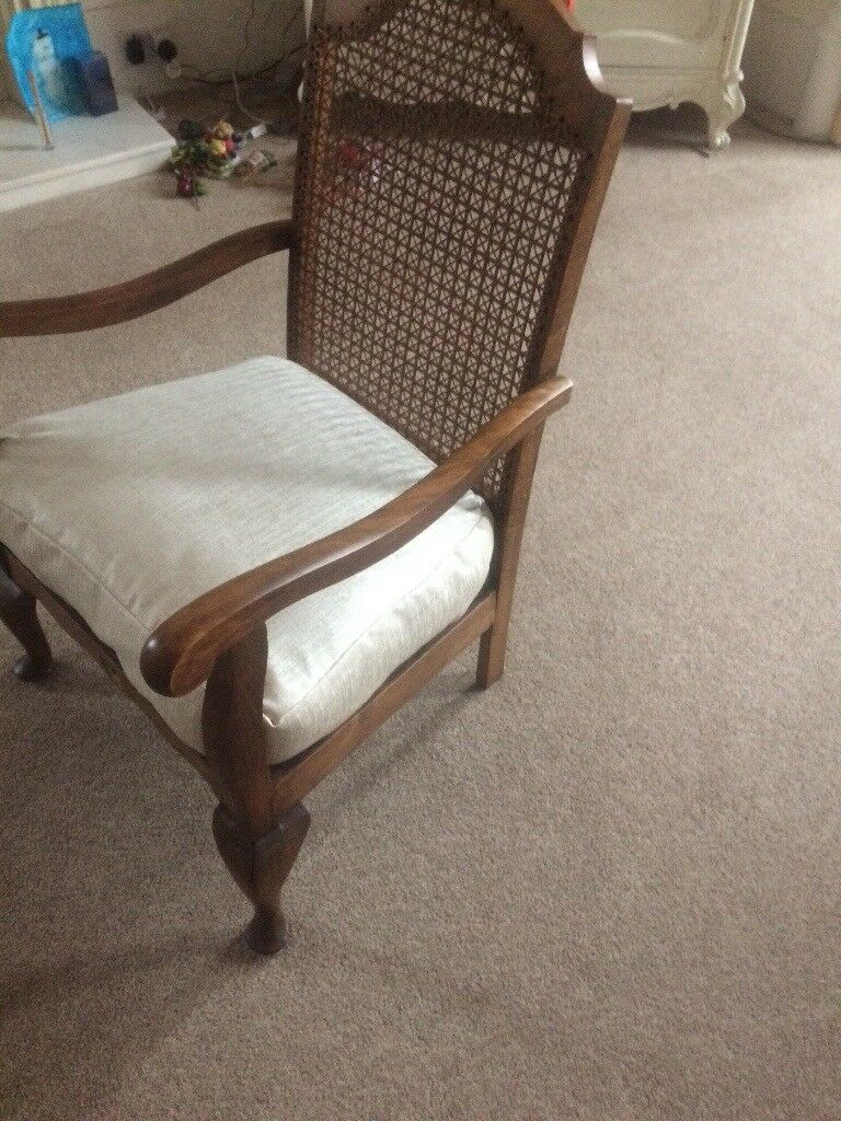 Antique Bergere Chair - Antique Bergere Chair In Greenock, Inverclyde Gumtree