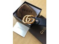 Gucci belt brand new all packaging included