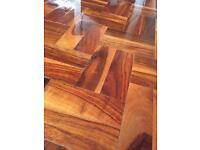 Parquet wood blocks Rhodesian Teak 36 m sq