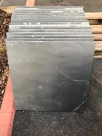 Bradstone natural slate paving slabs