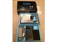 Black boxed nontendo Wii console