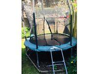 Free trampoline 8ft circular Telstar - needs new netting and bumper