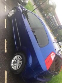 Blue Fiat Punto Tinted Windows