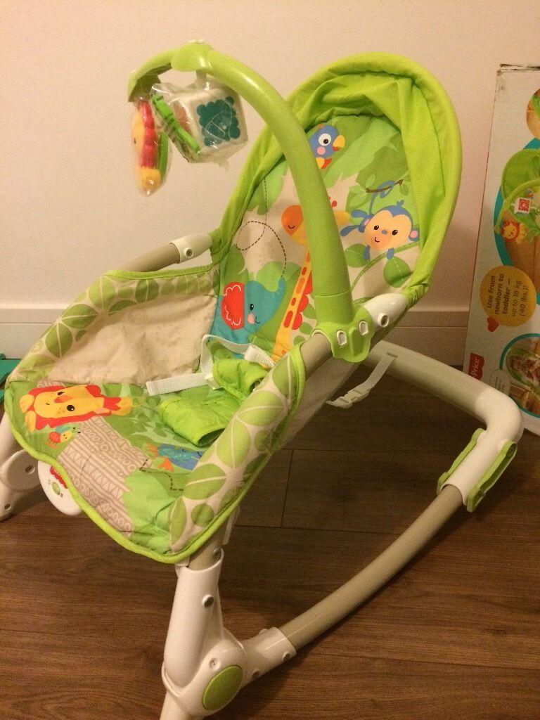 Newborn to toddler portable rocker fisher price