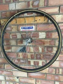 "Cycle wheels for sale 3 road bike type and 2 mountain type 26"" and 24""...."