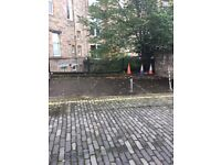 Car park space to let lynedoch place lane,west end ,edinburgh