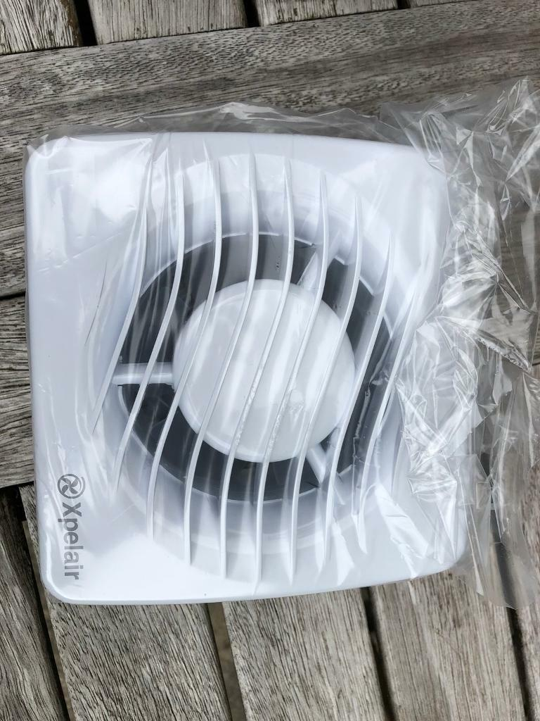 Xpelair axial extractor fan - DX100T timer version unused still in ...