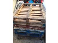 7 x free pallets