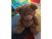 LARGE PLUSH TEDDY BEAR AROUND 50 CM
