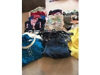 Large bundle of girls clothes ages 4-5 and 5-6