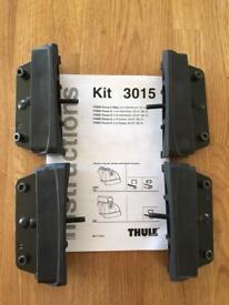 Thule 3015 roof bar fixing kit