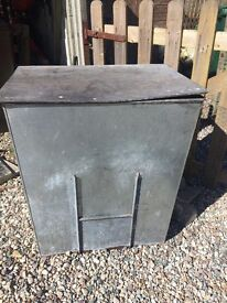 Metal Coal Bunker.