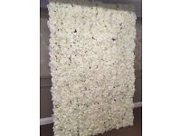 Wedding Flower Wall Artificial Floral Wall Wedding Stage backdrop £475.00 Hire