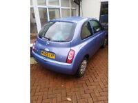 2005 Nissan Micra 1.2ltr Spares / Parts Accident Damage Excellent Engine & Gearbox