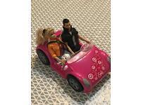 Fashion dolls with car