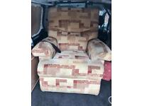 Electric recliner arm chair can deliver free