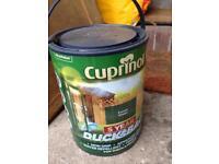 Tin of Cuprinol