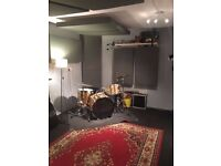 Permanent band practice rehearsal space to rent monthly BS2