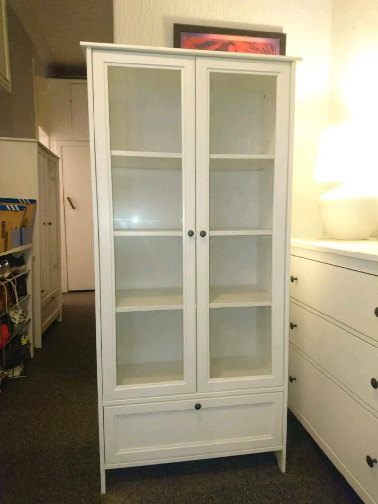 Ikea Smadal Cabinet With Glass Doors Rare In Southside Glasgow Gumtree
