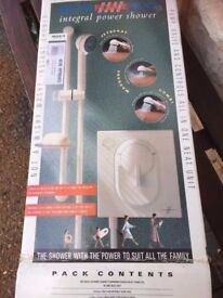 New electric power shower