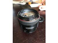 CANON EF 85mm 1.2 L Ultrasonic Lens