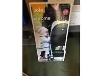 Jole chrome carry cot excellent condition new born look cheap