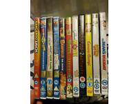 Assorted dvds kids/family 20p each