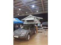 Ventura Deluxe 1.4 Roof Top Tent 2-3 Person Camping Expedition 4x4 VW Jeep Land Rover Any Vehicle