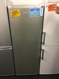 BEKO FROST FREE UPRIGHT FREEZER IN SILIVER