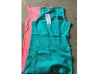 Girls vest tops - brand new with tags
