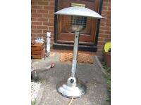stainless steel gas patio heater. In excellent order.